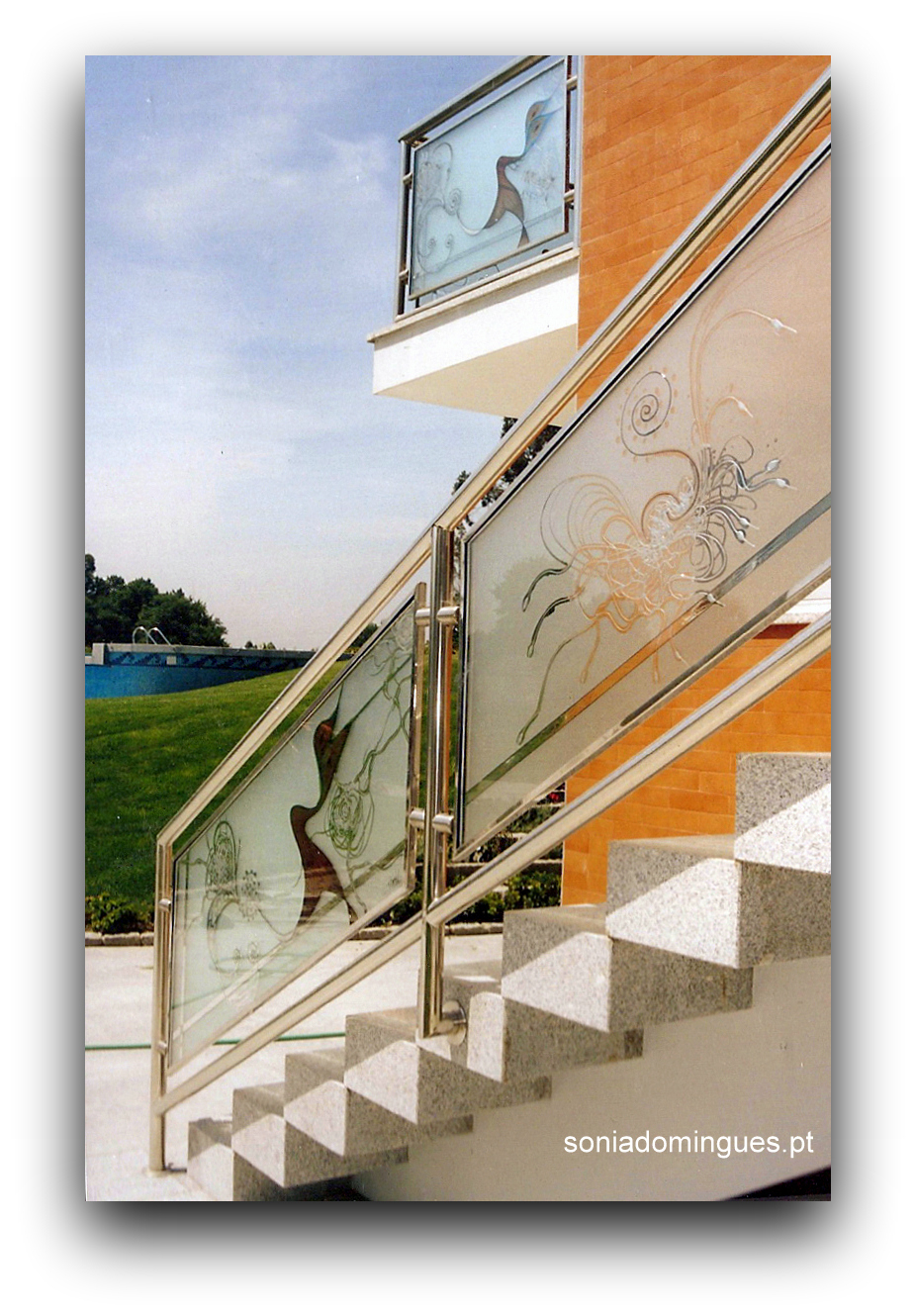 Stained Glass - Stairways - Fusion of Knowledge Ext.