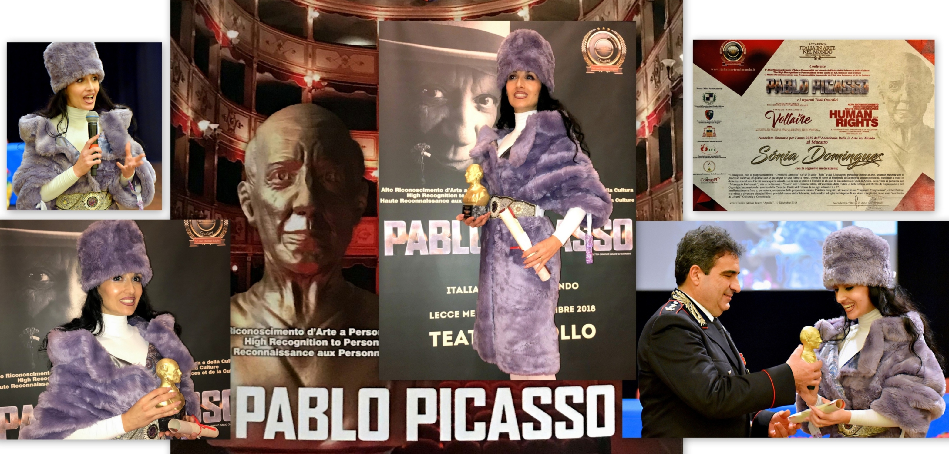 International Award - Pablo Picasso