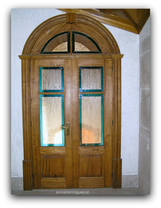 Doors in Stained Glass - Sun & Water Curtain 1