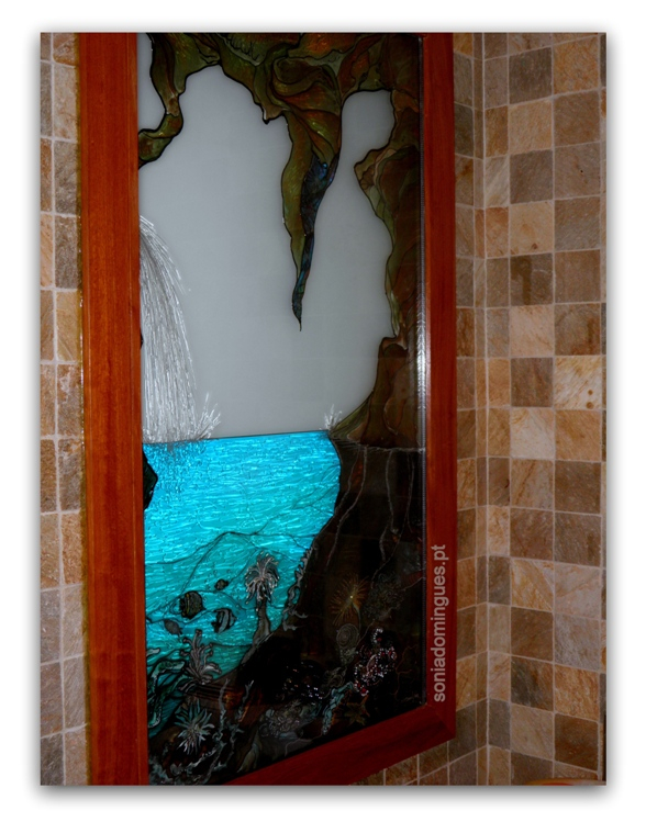 Stained Glass - Aquarium Interior & Exterior Views