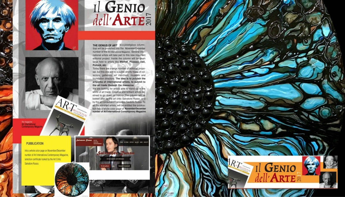 The Genius of Art - Award & Editorial Project