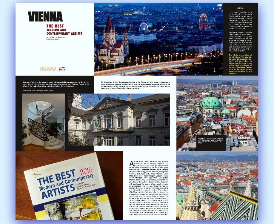 Best Modern & Contemporary Artists of 2016 Awards - Vienna - Austria