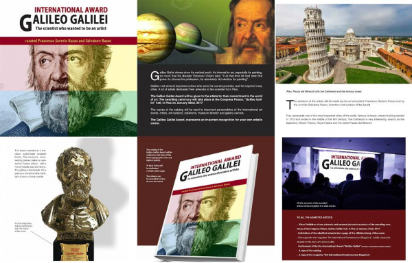 International Award - Galileo Galilei - Pisa - Italy