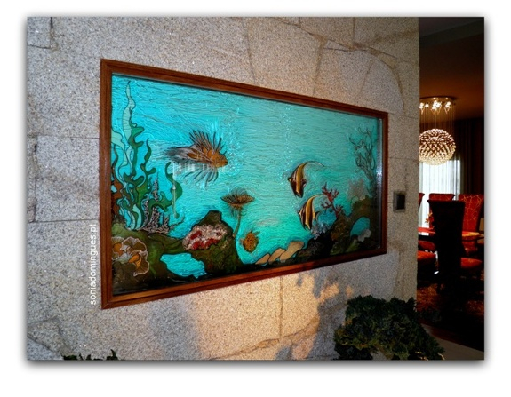 Stained Glass - Artistic Aquarium