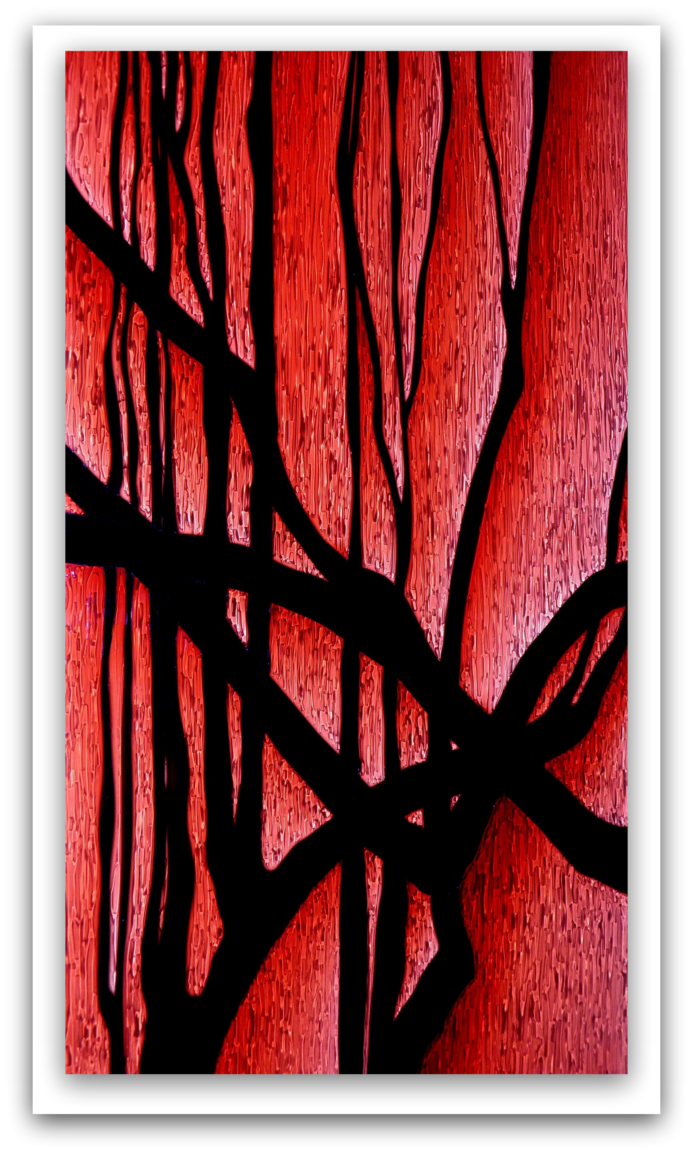 Stained Glass - Bush Ardent