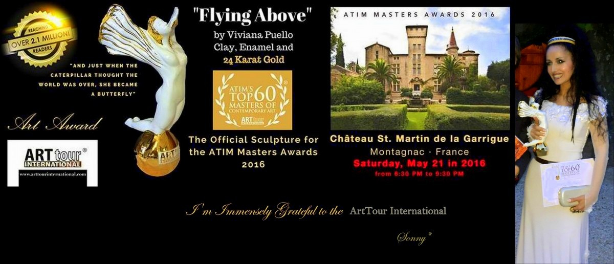 ATIM'S - TOP 60 MASTERS Award of Contemporary Art - 2016