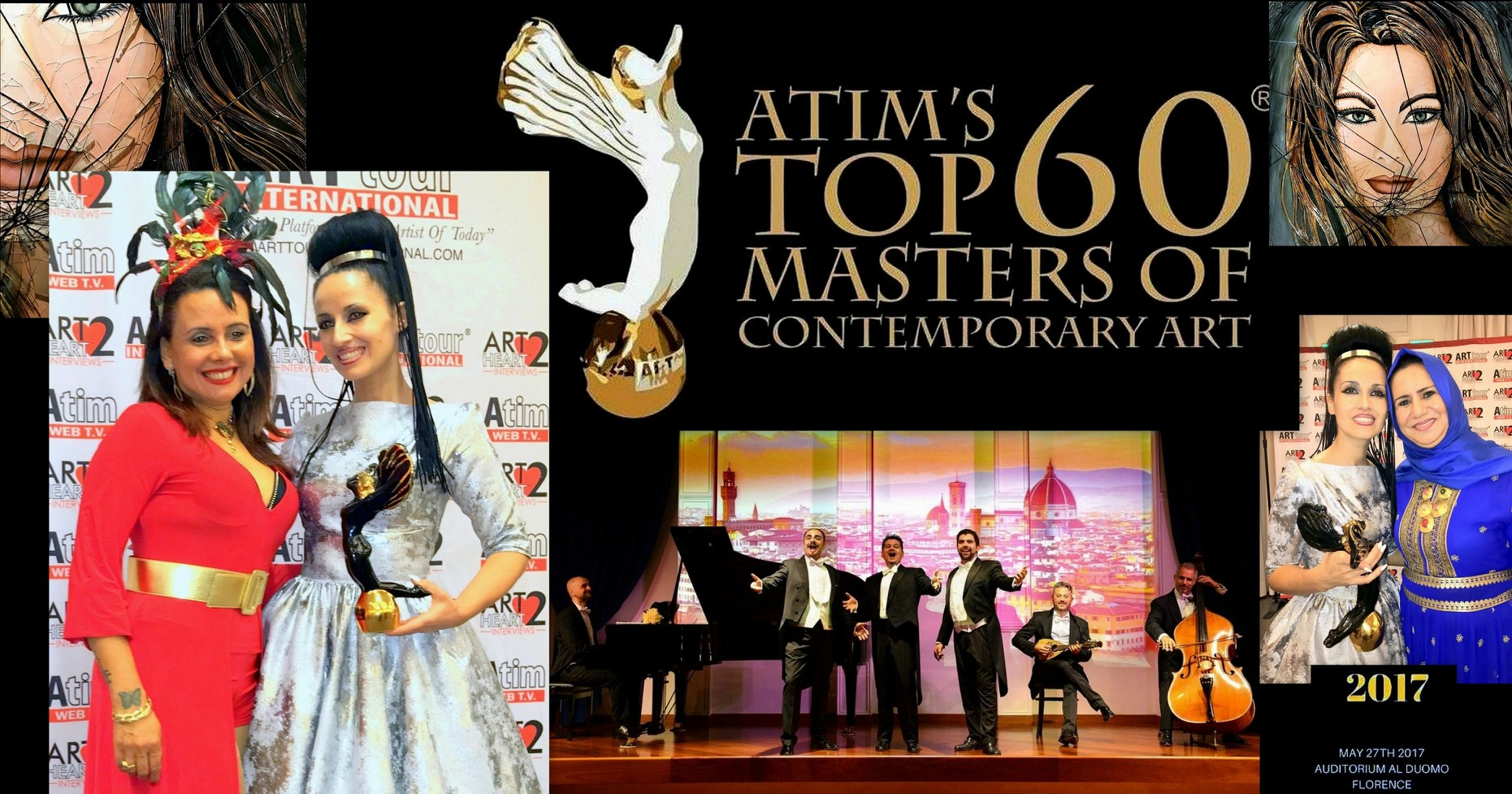 ATIM'S - TOP 60 MASTERS Award of Contemporary Art - 2017
