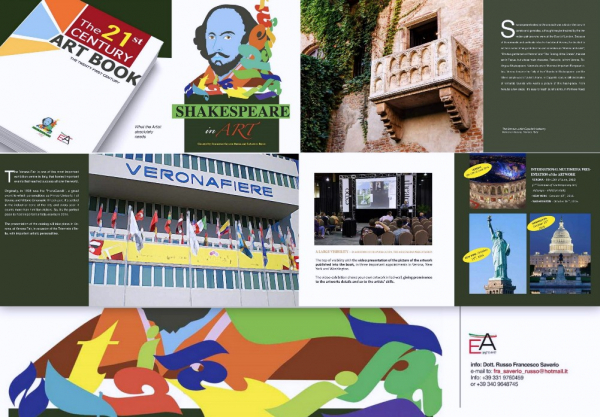 Shakespeare in Art - Award - Verona - Italy