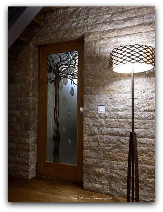 Interior Doors - Baobab Tree - Abstract African Inspiration 1