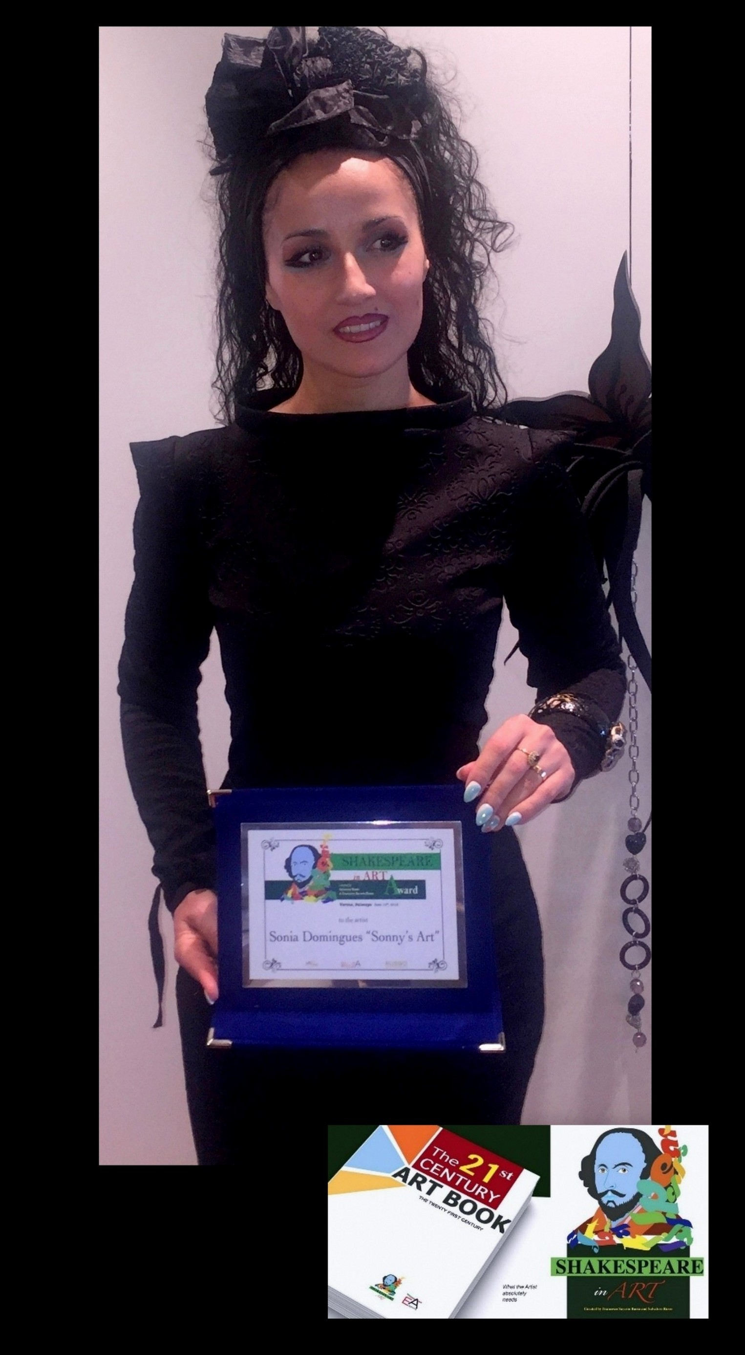 Master Sonia Domingues Awarded with Shakespeare In Art and Book Awards Ceremony on Verona New York and Washington